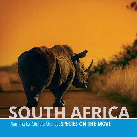 Cover of South Africa climate change booklet